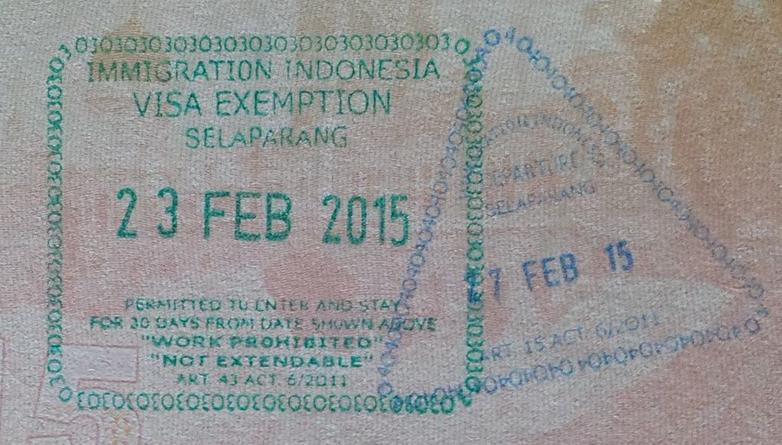 Visa-Exemption-Free-Visa-Indonesia